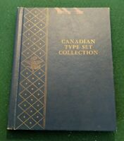 COMPLETE CANADIAN COIN TYPE SET IN WHITMAN ALBUM FROM 1858