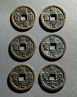 N.SONG A.D 1101'S COIN SHENG SONG YUAN BAO  X 6 PCS