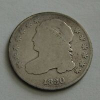 1830 CAPPED BUST DIME SHIPS FREE