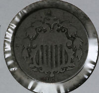 BETTER DATE 1872 SHIELD NICKEL - GOOD TO  GOOD CONDITION