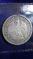 1872 CHILE PESO   GREAT DETAILED STRIKE   POSSIBLE 1872//0