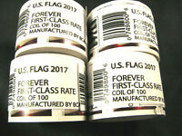 4 ROLLS  400  FOREVER USPS FIRST CLASS POSTAGE STAMPS MAIL S