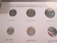 1987 KUWAIT SILVER PROOF SET