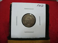 1912  CANADA  SILVER  DIME 1/10  DOLLAR  10 CENT COIN   NEWFOUNDLAND  STERLING