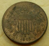 1865  TWO CENT COIN        2C65-HG  HIGH GRADE