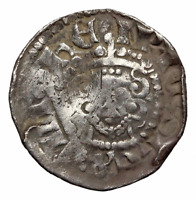 ENGLAND. HENRY III SILVER HAMMERED PENNY VOIDED LONG CROSS