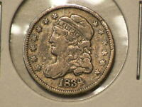 1834 US CAPPED BUST SILVER HALF DIME  9955