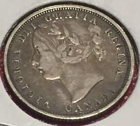 MAKE ME AN OFFER    CANADA 20 CENTS 1858   QUEEN VICTORIA