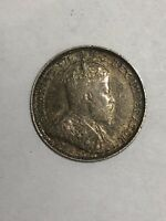 1903 5C CANADIAN SILVER COIN.  AUCTION