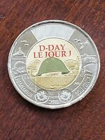 2019   D DAY    CANADA $2   CANADIAN TOONIE