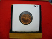 1967  CANADA  1  CENT COIN  PENNY  PROOF LIKE  HIGH  GRADE  SEALED  SEE PHOTOS