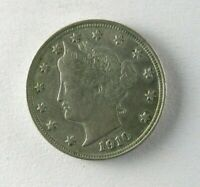 1910 LIBERTY HEAD V NICKEL HIGHER GRADE COIN - UNCIRCULATED - 224
