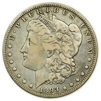 1893-O MORGAN DOLLAR, LARGE, TOUGH DATE, SILVER COIN [4265.115]