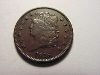 1835 LIBERTY CLASSIC HEAD HALF CENT, LOOKS TO BE IN EXTRA FINE /AU CONDITION