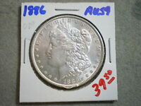 1886 MORGAN SILVER DOLLAR   --UNCERTIFIED---SHIPS FREE-----------