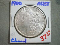 1900 MORGAN SILVER DOLLAR/ CLEANED   --UNCERTIFIED----SHIPS FREE---------