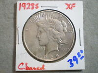 1928-S PEACE SILVER DOLLAR/ CLEANING    -\UNCERTIFIED//----SHIPS FREE-------