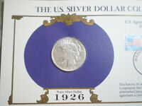 1926-S PEACE SILVER DOLLAR  UNCERTIFIED--SHIPS FREE
