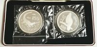 1976 PAKISTAN 150 RUPEES AND 100 RUPEES  TWO COIN SET