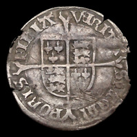 ENGLAND. BLOODY MARY SILVER GROAT 1553 4 SOLE REIGN SPINK 24