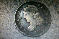 1829 CAPPED BUST HALF DIME 5C COIN