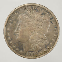 1892-S $1 MORGAN SILVER DOLLAR BETTER DATE COIN LOTD030