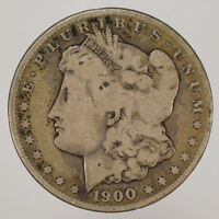 1900-S $1 MORGAN SILVER DOLLAR LOTD628