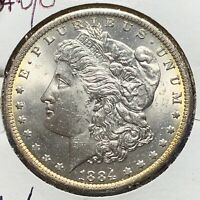 1884-O/O $1 MORGAN SILVER DOLLAR, VAM 6, TOP 100 VAM 50961
