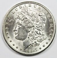 1897-S MORGAN DOLLAR