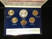 2014 ANNUAL UNCIRCULATED DOLLAR SET WITH AMERICAN SILVER EAG
