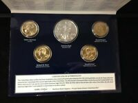 2016 ANNUAL UNCIRCULATED DOLLAR SET WITH AMERICAN SILVER EAG