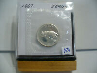 1967 CANADA SILVER QUARTER  DOLLAR TOP GRADE    67A  PROOF LIKE  SEALED