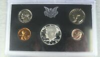 1969 S US MINT UNCIRCULATED PROOF SET SILVER KENNEDY HALF DO