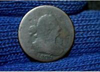 1806 HALF CENT LARGE 6, WITH STEMS REVERSE ROTATED ABOUT 80 DEGREESBARGAIN