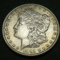 1891 S $1 MORGAN SILVER DOLLAR US MINT COIN