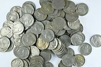 LOT OF 242 FULL DATE BUFFALO NICKELS FV   $12.10