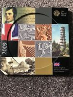 2009 ROYAL MINT BRILLIANT UNCIRCULATED COIN COLLECTION INCL
