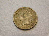 KEY 1909   S INDIAN HEAD PENNY CENT   VF DETAILS