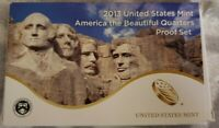 2013 S AMERICA THE BEAUTIFUL FIVE COIN CLAD PROOF SET IN U.