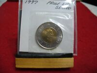 1997    CANADA 2$ TWO  DOLLAR  COIN  TOONIE  97  PROOF LIKE  SEALED   AUCTION