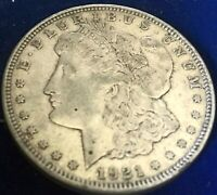1921 D MORGAN SILVER DOLLAR  FINE ESTATE FIND LOT 112