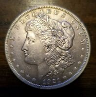 1921 MORGAN SILVER DOLLAR - 90 SILVER - HOT INVESTMENT