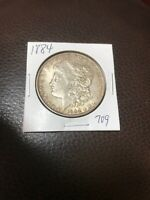 1884 MORGAN SILVER DOLLAR 709
