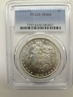 1904-O US MORGAN DOLLAR $1 - PCGS MINT STATE 64 BLAST WHITE CHECK OUT MY OTHER MORGANS