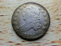 1921 SMALL DATE CAPPED  BUST  DIMEEXTRA FINE  DETAILS252