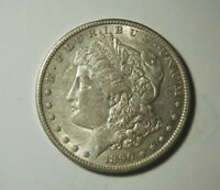 1890-S MORGAN SILVER DOLLAR XTRA F OR BETTER