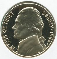 1984 S PROOF JEFFERSON NICKEL 5 CENT COIN