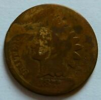 1877 INDIAN HEAD CENT RARE KEY DATE PENNY 1C COIN    051906P