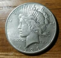 1926-P PEACE SILVER DOLLAR  CHOICE AU/UNCIRCULATED  90 SILVER PRICED TO SELL