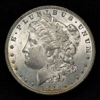 1881-O $1 MORGAN SILVER DOLLAR, ORIGINAL BETTER DATE COIN UNC LOTS164